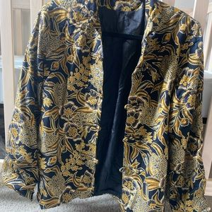 Vintage Chinese blazer for women